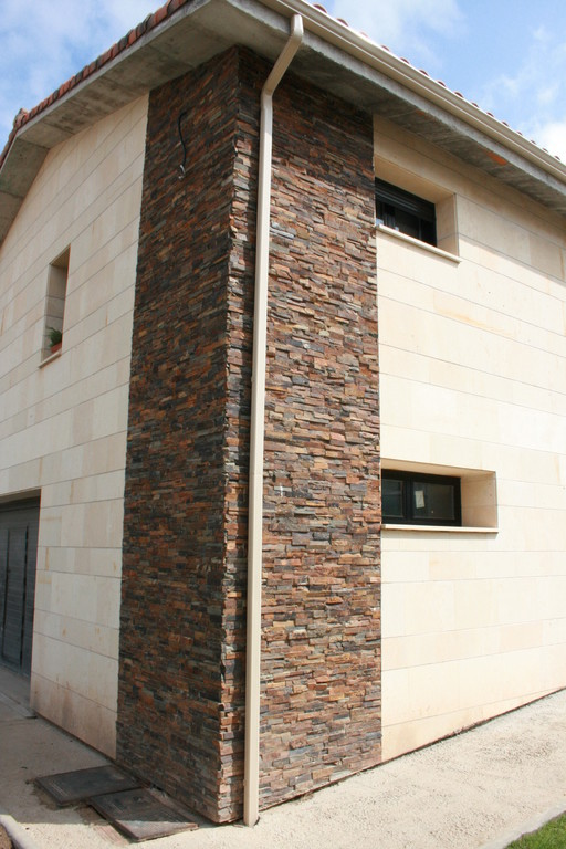 Grupo muser ejemplos de revestimientos de fachadas en - Revestimientos de fachadas ...